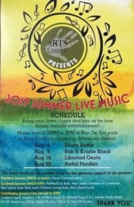2019 West Liberty Live Music Event