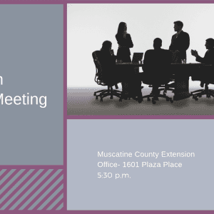 Extension Council Meeting