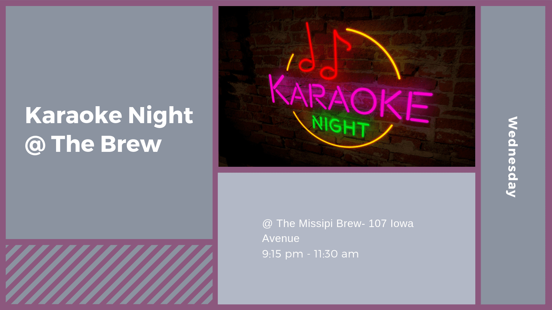 Karaoke Night @ the Brew
