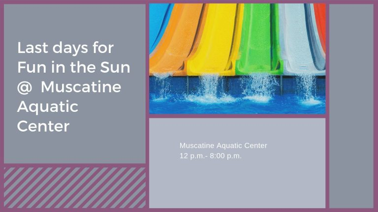 Last days for Fun in the Sun at Muscatine Aquatic Center