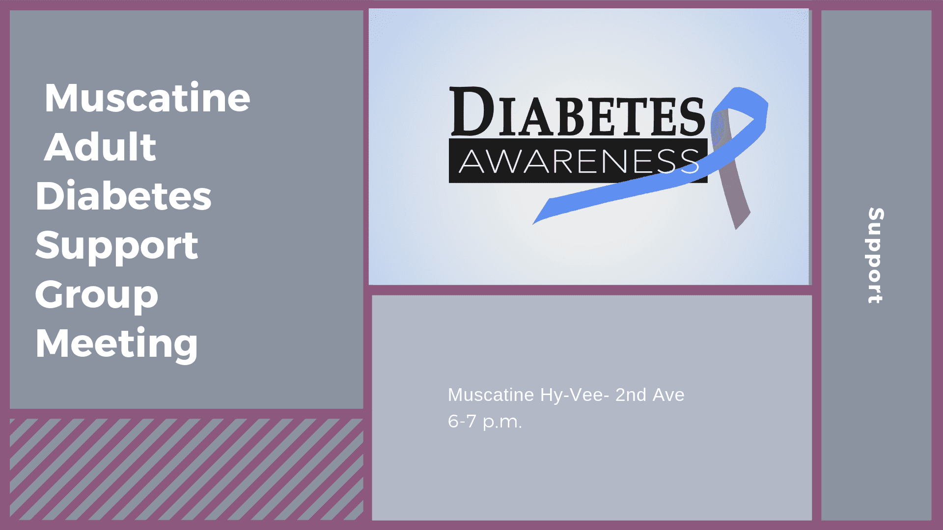 Muscatine Adult Diabetes Support Group Meeting