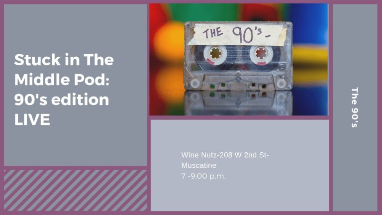 Stuck in The Middle Pod: 90's edition LIVE