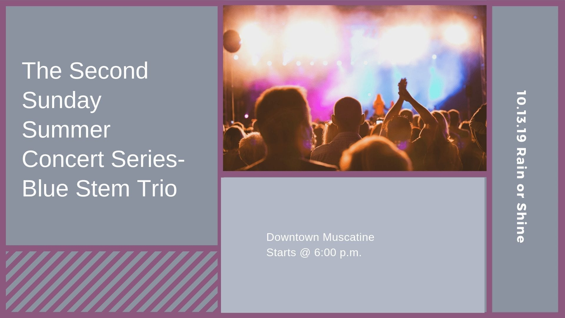 The Second Sunday Summer Concert Series-