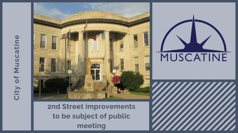 2nd Street improvements to be subject of public meeting