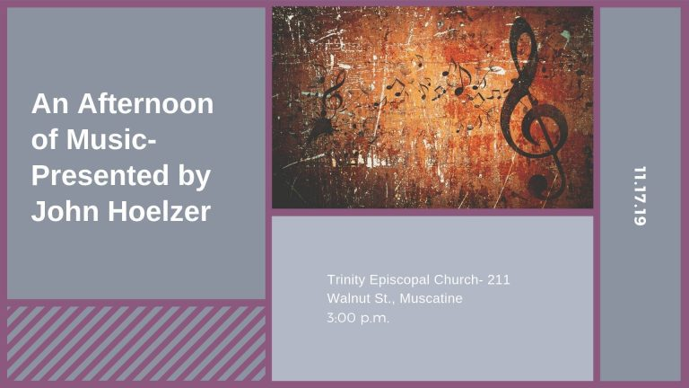 An Afternoon of Music- Presented by John Hoelzer