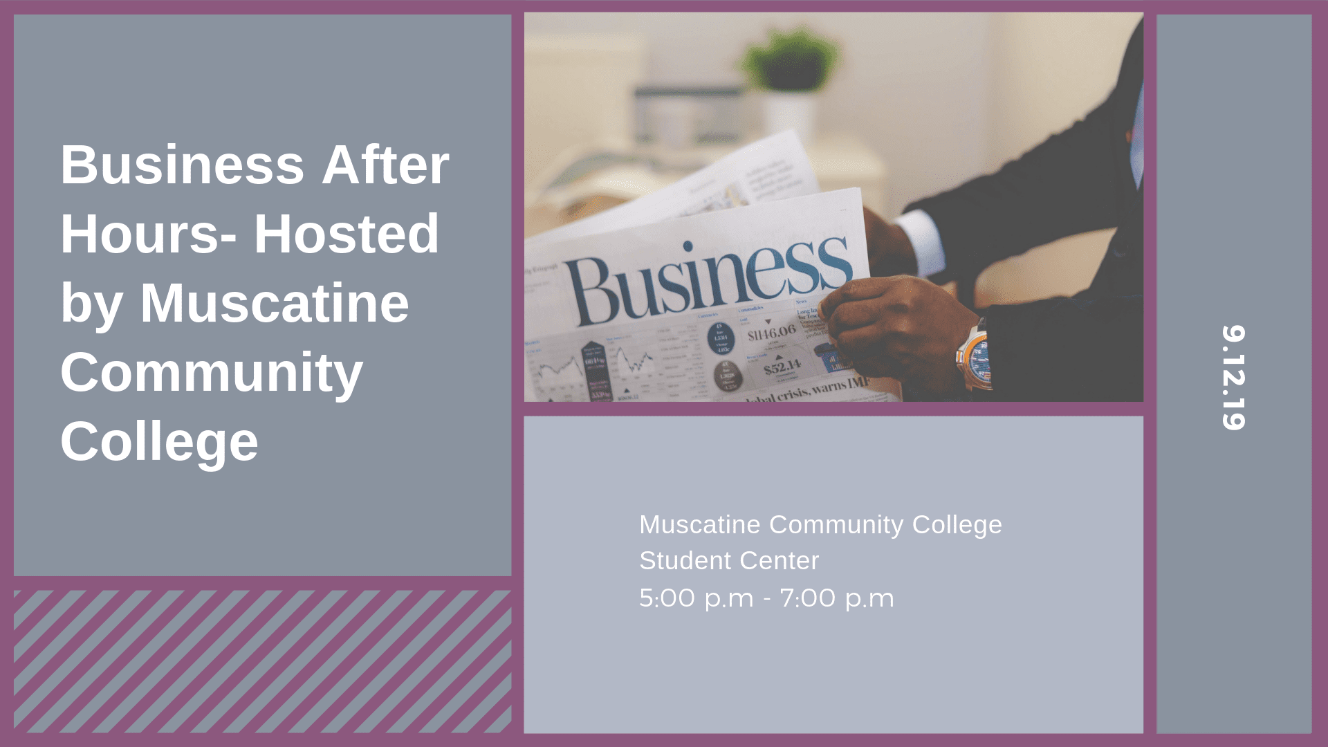 Business After Hours- Muscatine Community College