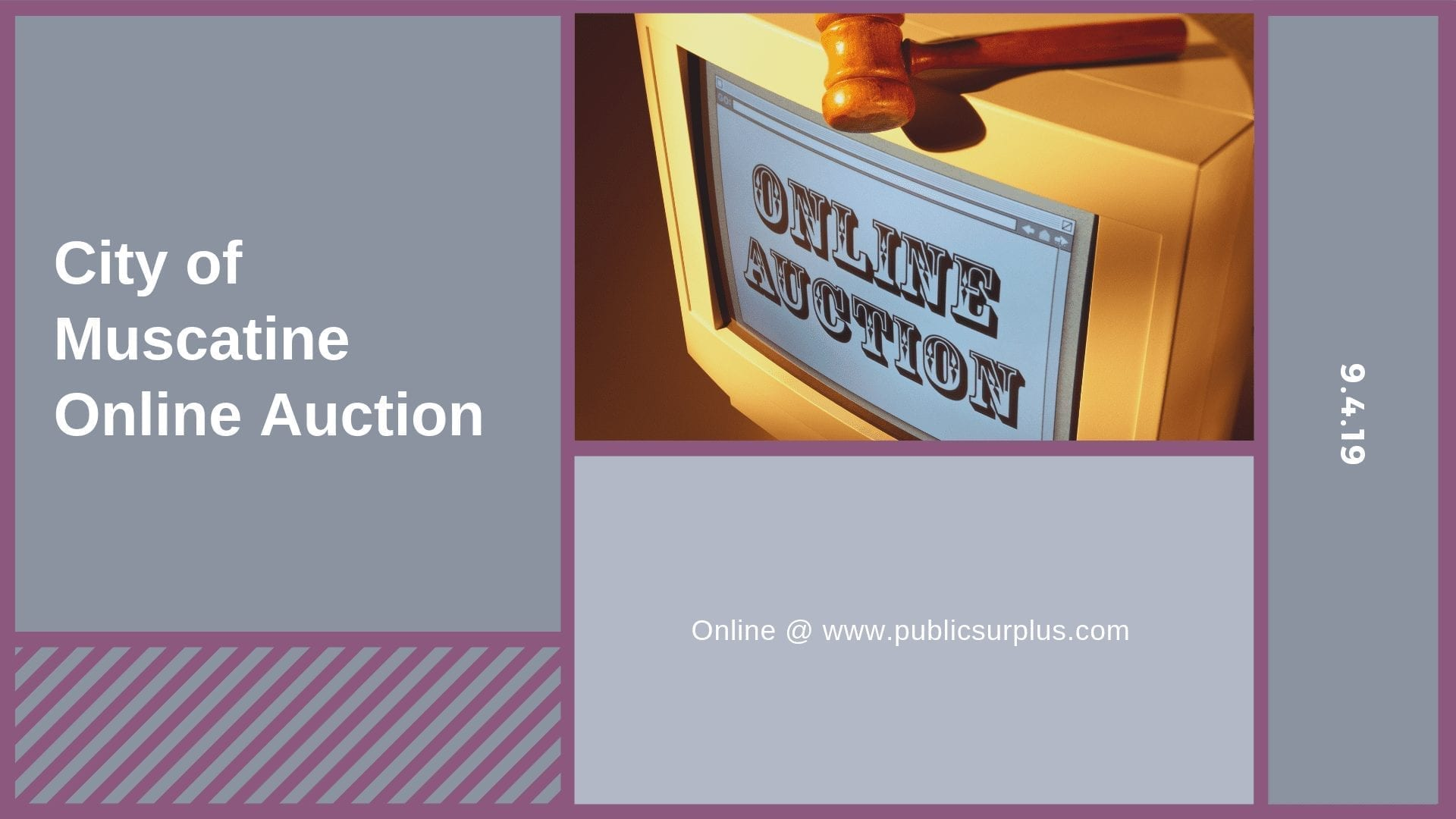 City of Muscatine Online Auction
