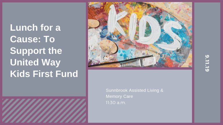 Lunch for a Cause: To Support the United Way Kids First Fund
