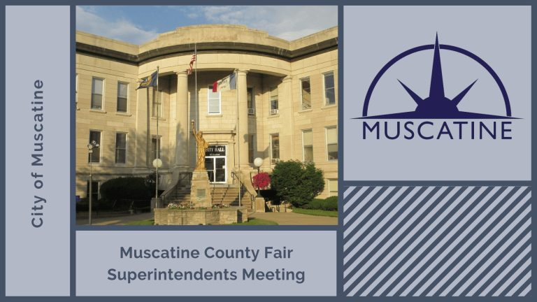 Muscatine County Fair Superintendents Meeting