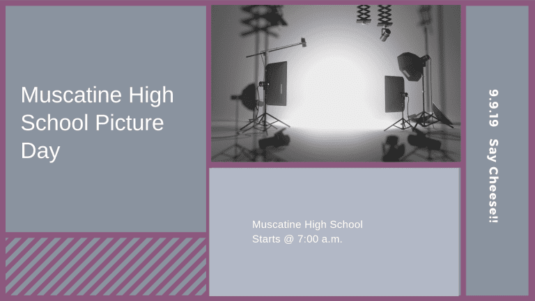 Muscatine High School Picture Day