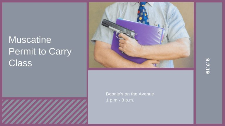 Muscatine Permit to Carry Class