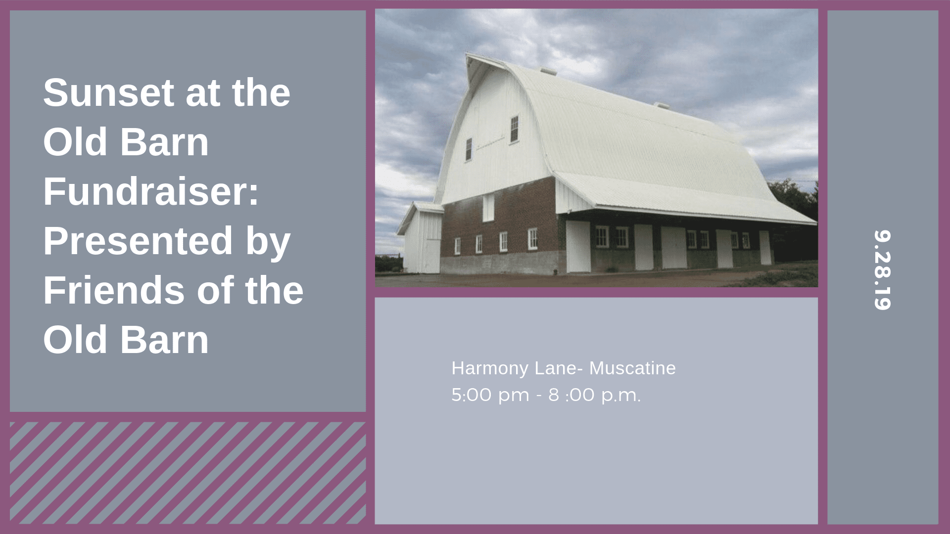 Muscatine Old Barn Fundraiser