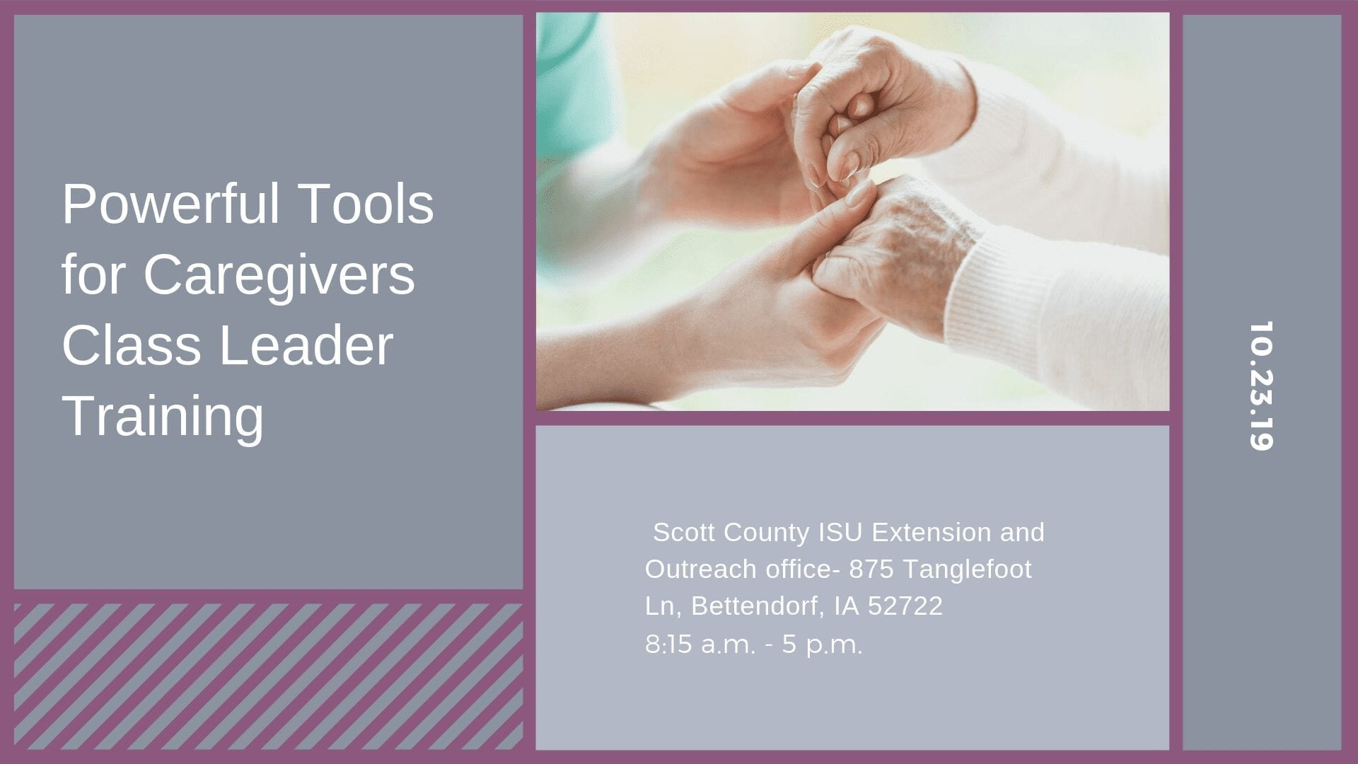Powerful Tools for Caregivers Class Leader Training