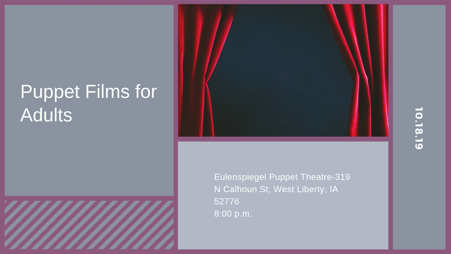 Puppet Films for Adults
