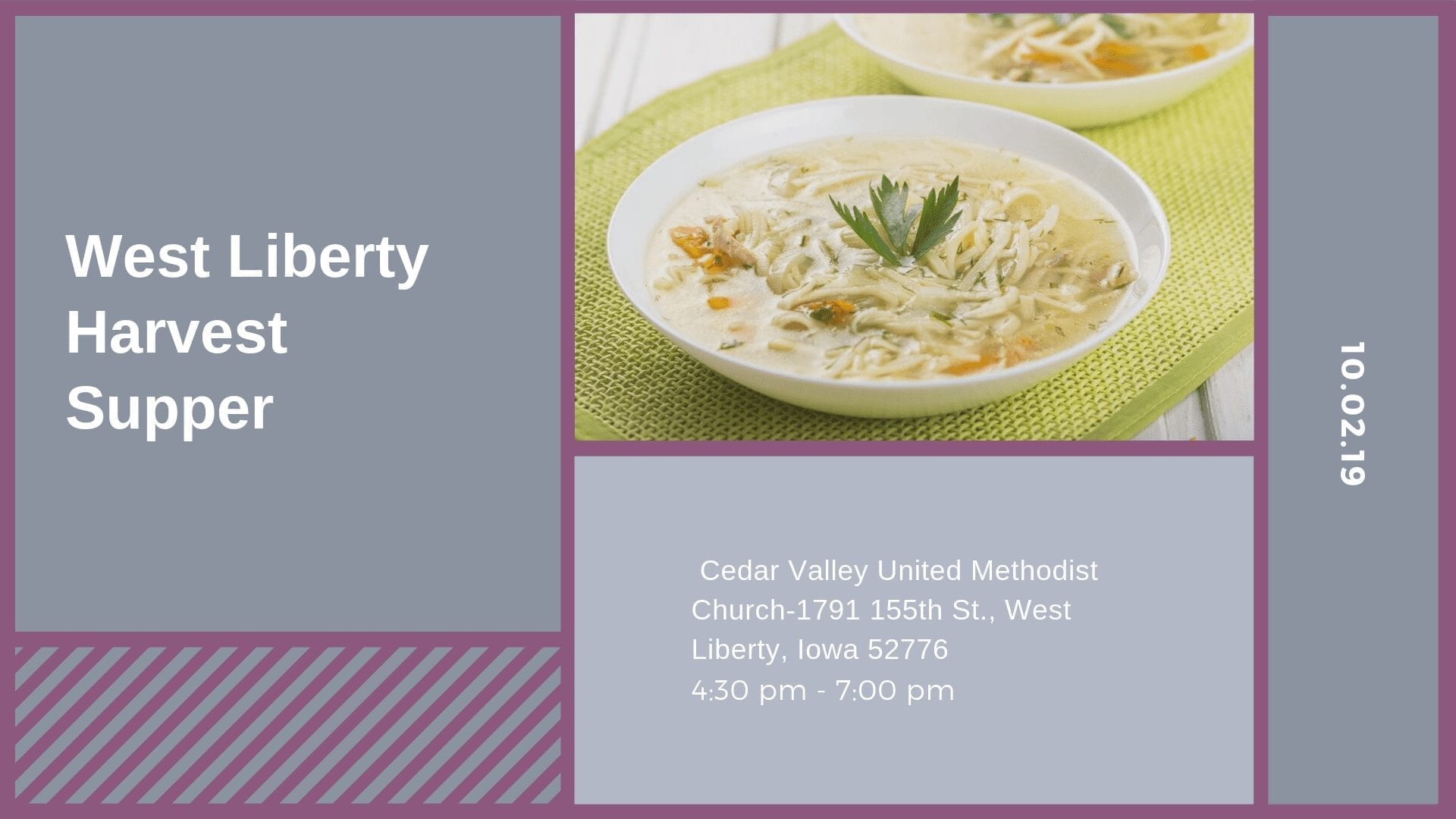 West Liberty Harvest Supper