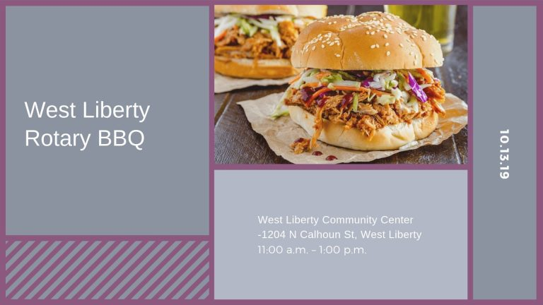 West Liberty Rotary BBQ