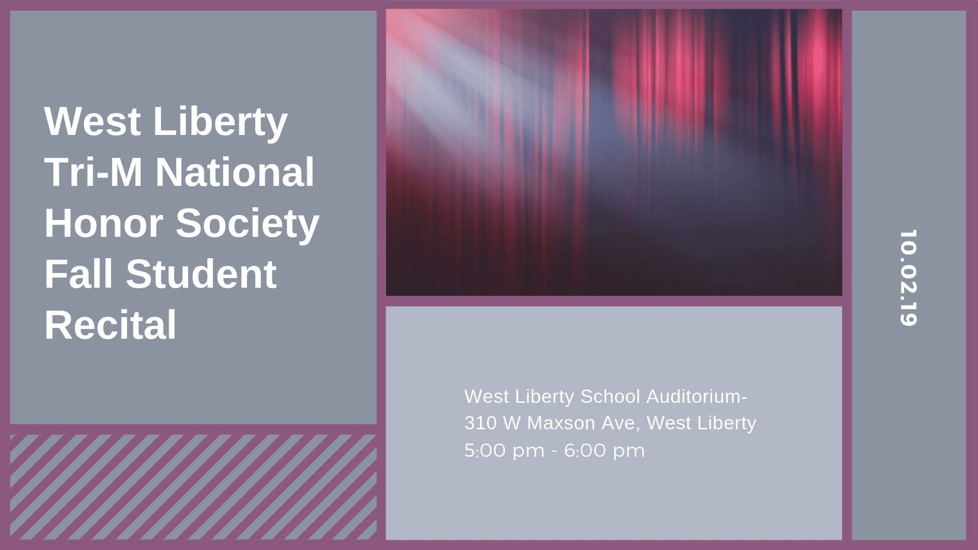 West Liberty Tri-M National Honor Society Fall Student Recital