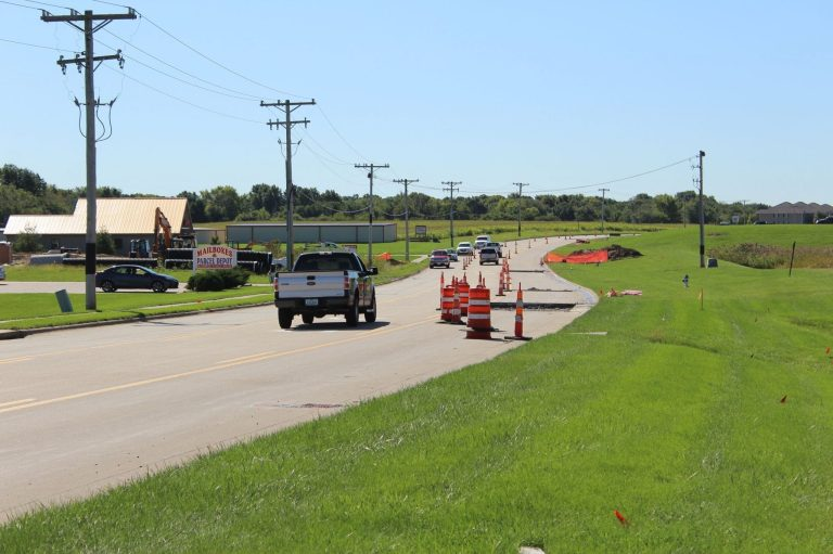 Iowa Avenue to open Tuesday; work on University Drive begins