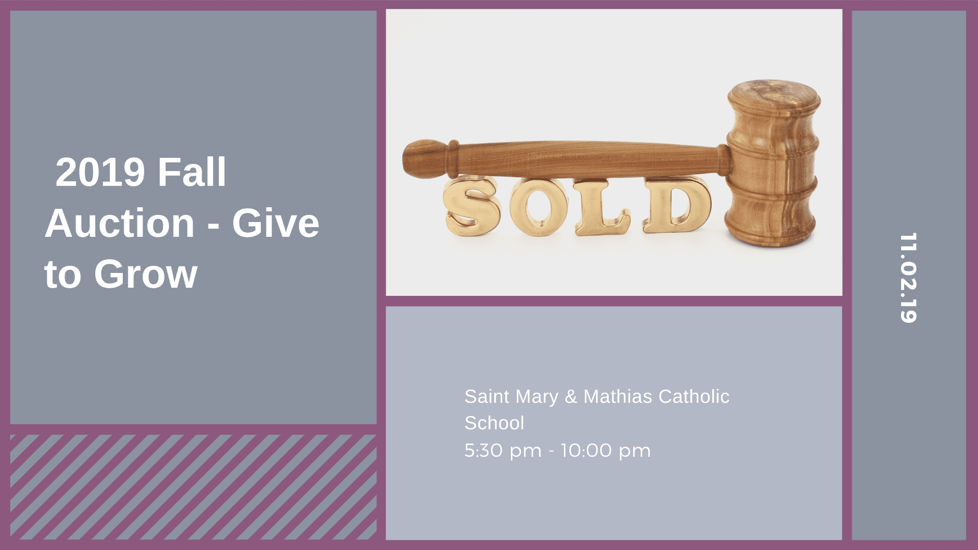 2019 Fall Auction - Give to Grow