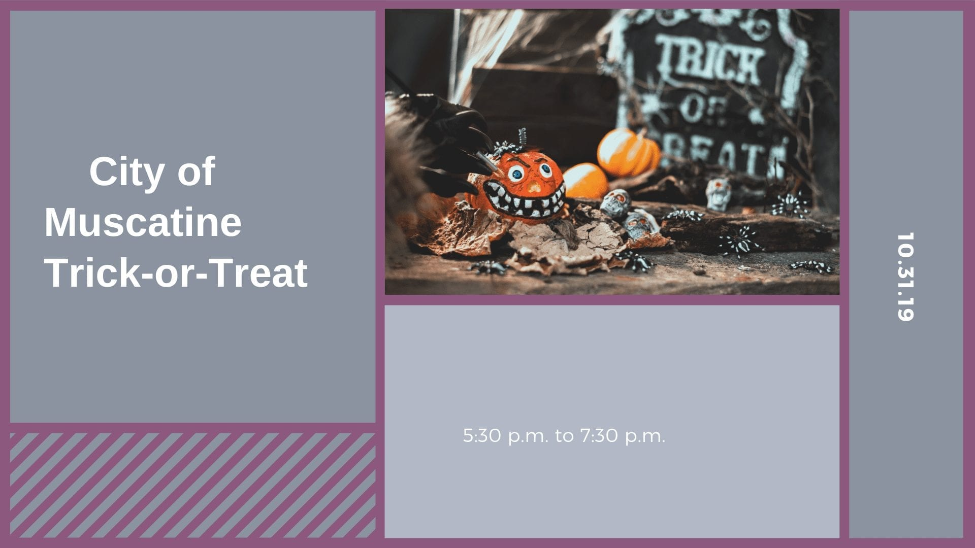 City of Muscatine Trick-or-Treat