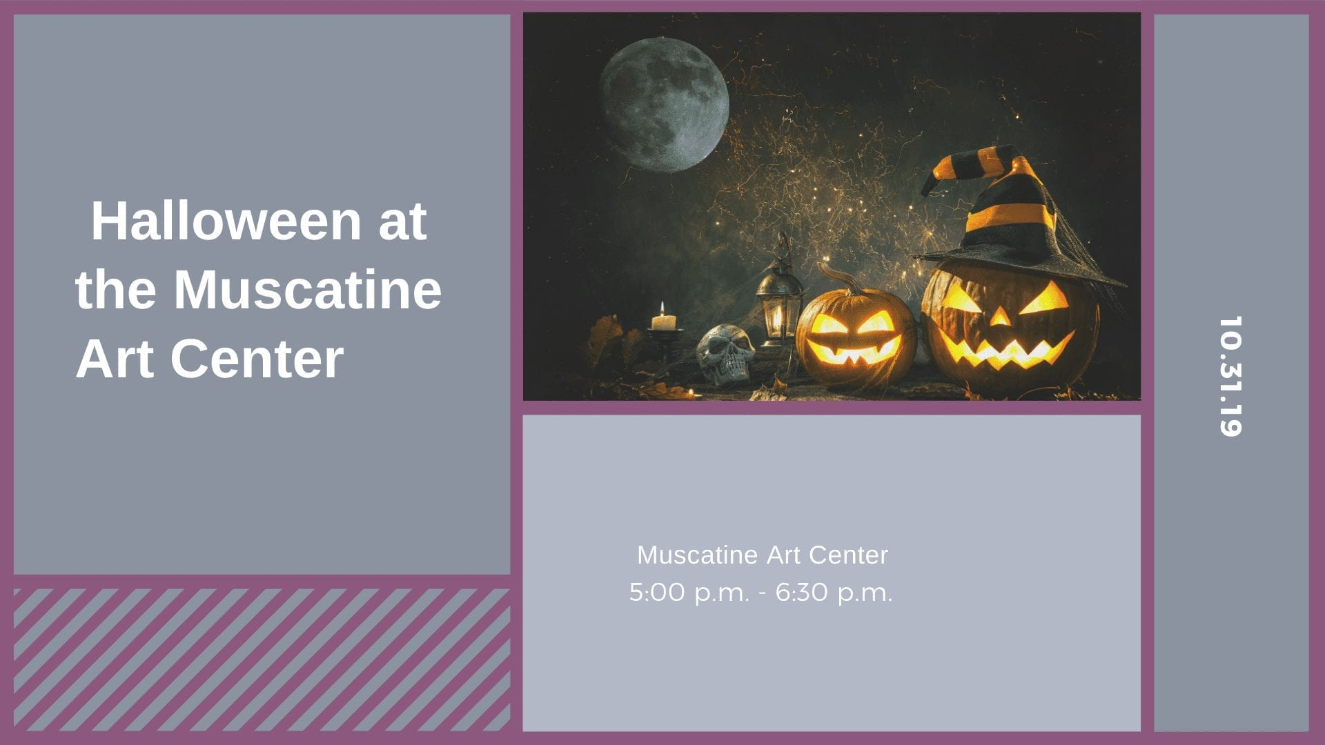 Halloween at the Muscatine Art Center
