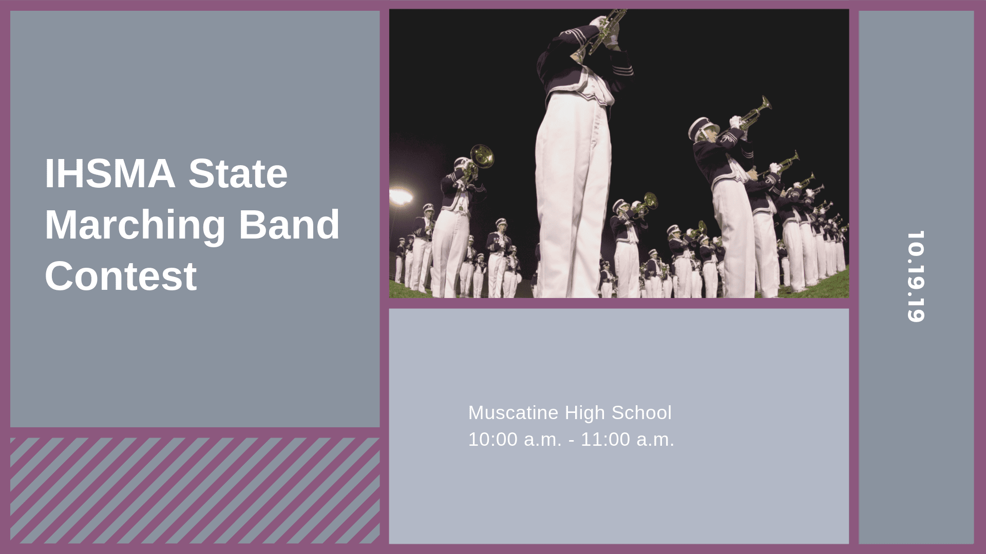 IHSMA State Marching Band Contest