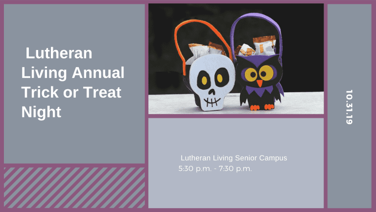 Lutheran Living Annual Trick or Treat Night