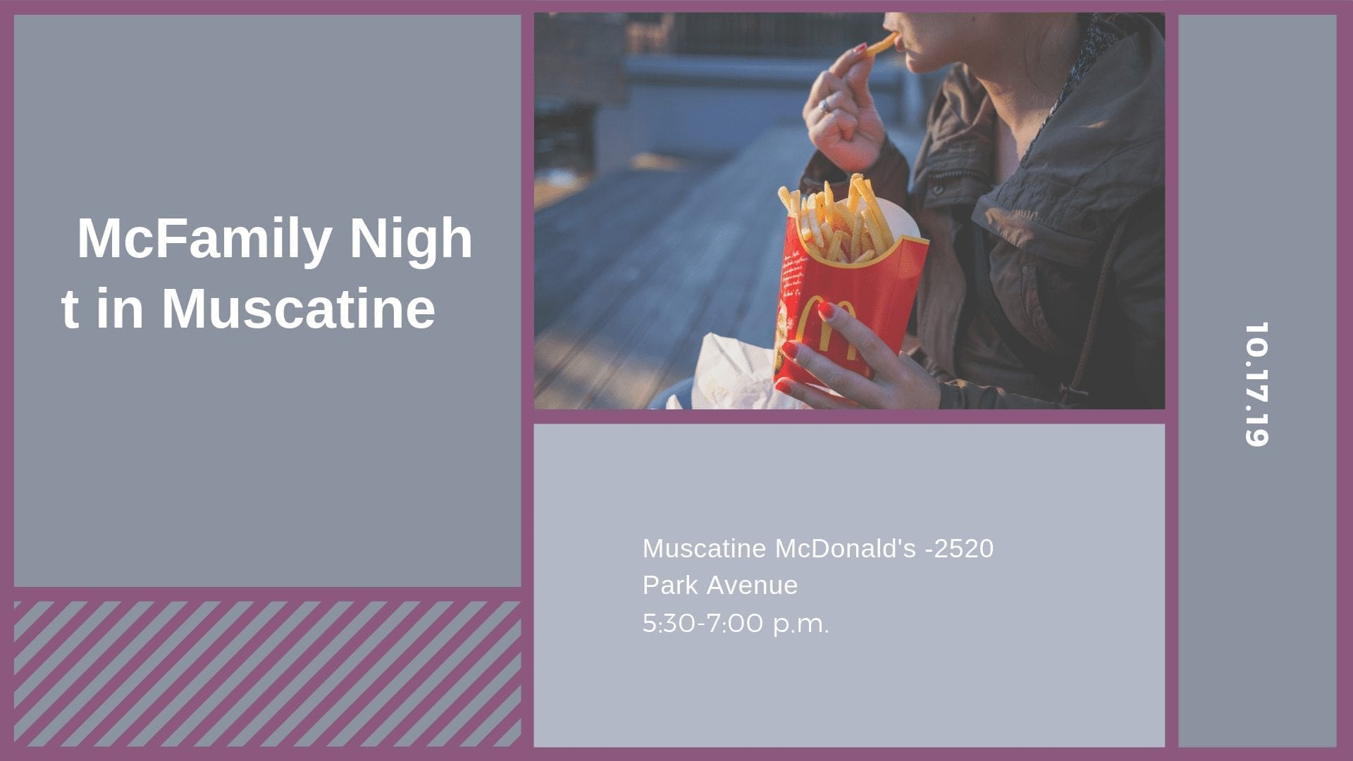 McFamily Night in Muscatine