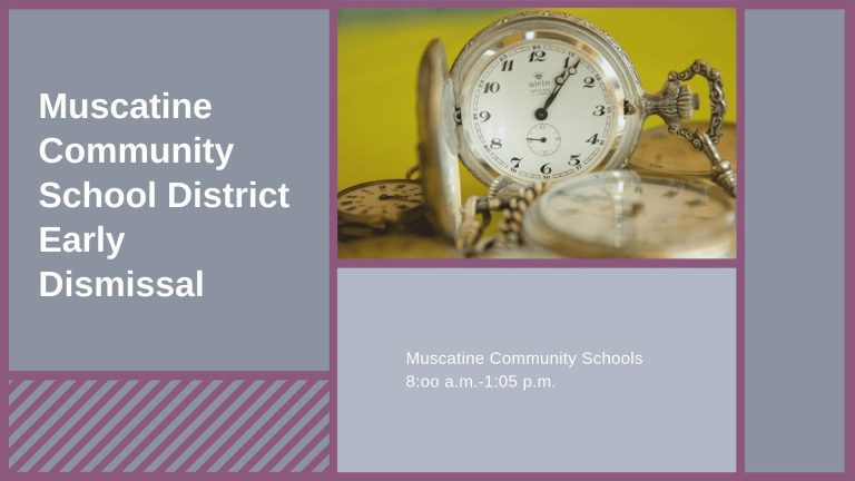 Muscatine Community School District Early Out