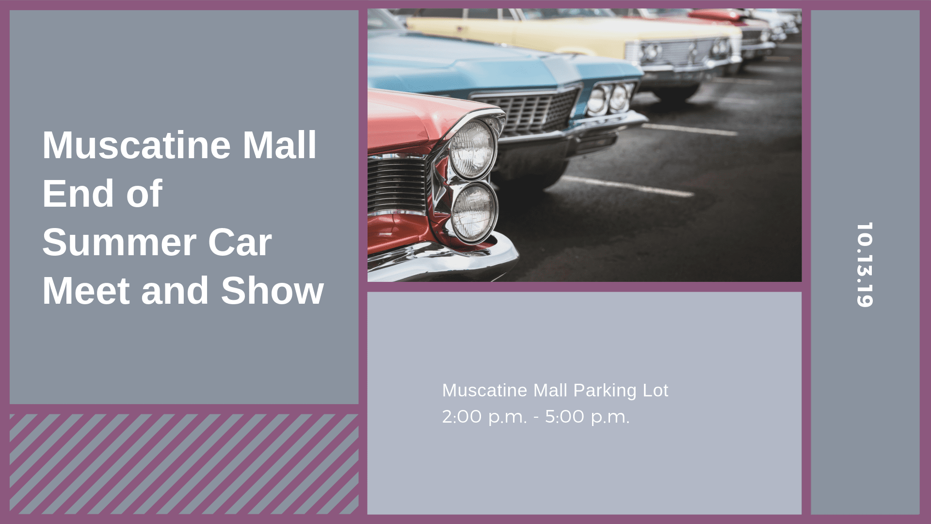 Muscatine Mall End of Summer Car Meet and Show