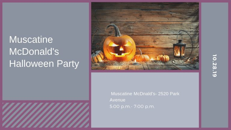 Muscatine Halloween Party