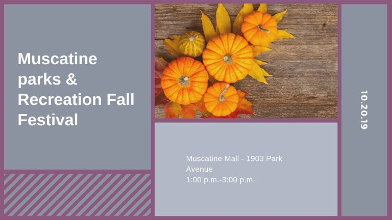 Muscatine Parks & Recreation Fall Festival