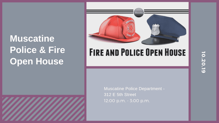 Muscatine Police & Fire Open House