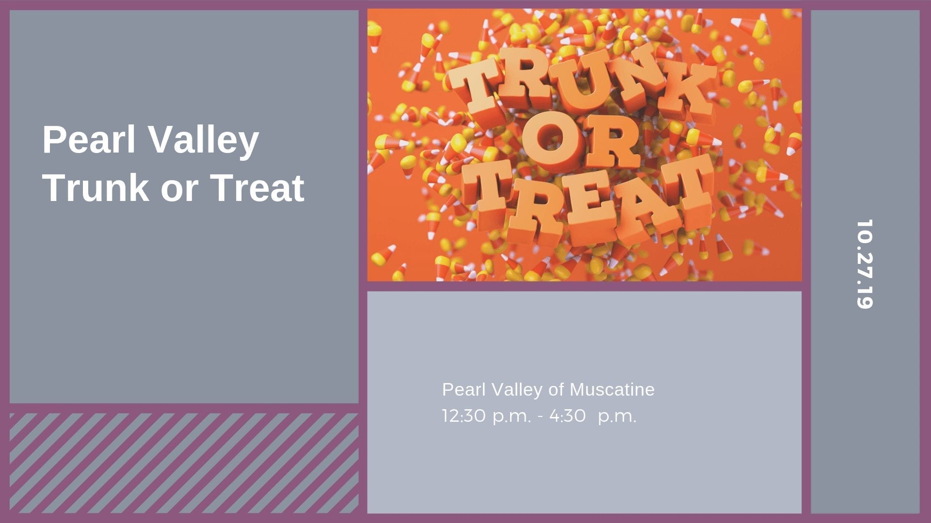 Pearl Valley Trunk or Treat