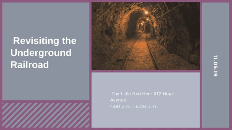 Revisiting the Underground Railroad