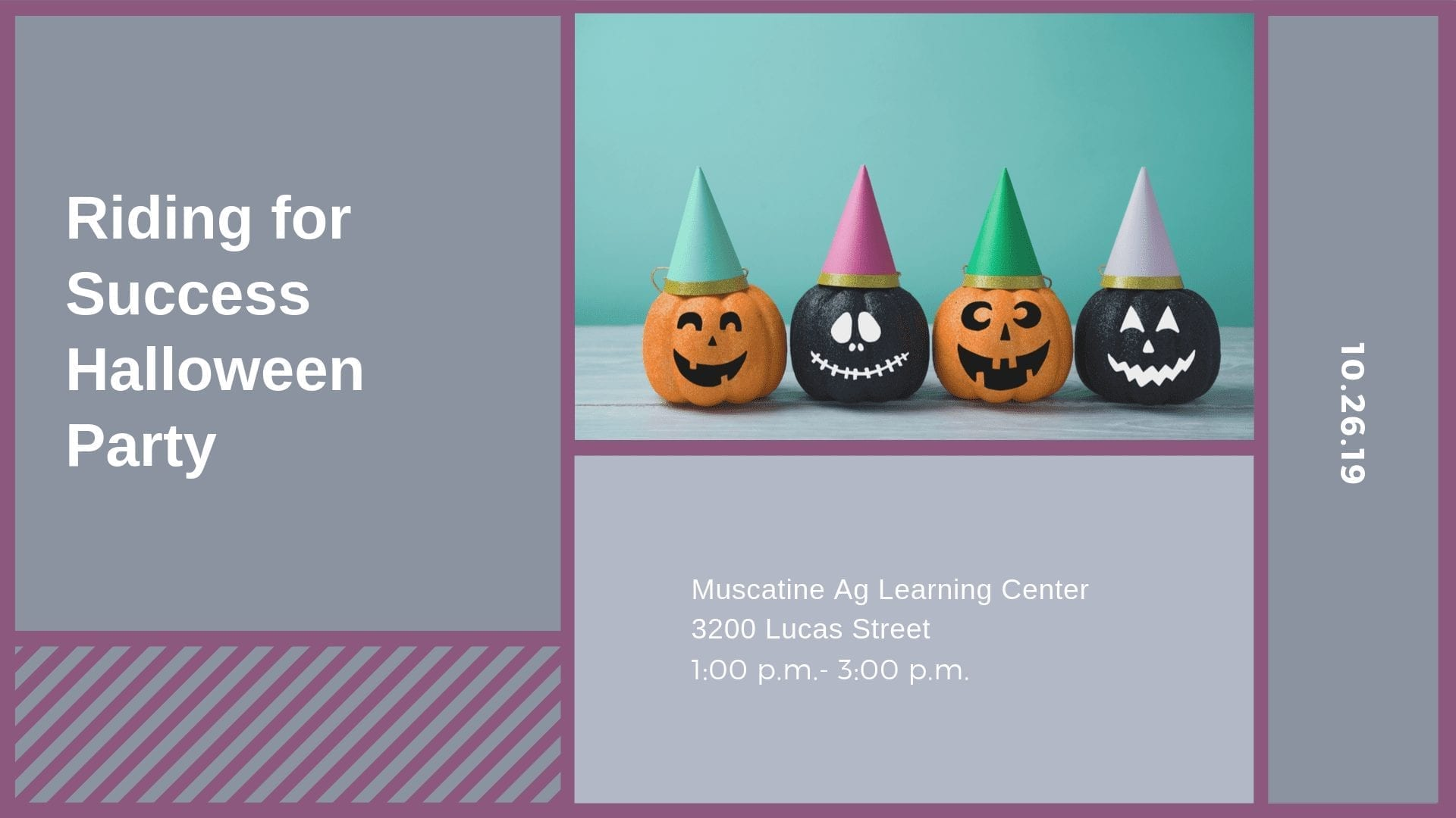 Riding for Success Halloween Party
