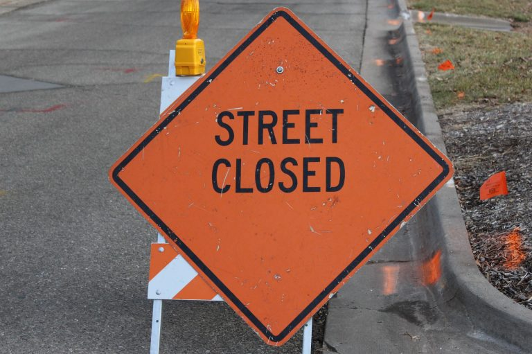 1500 block of Washington to be closed for sewer repair