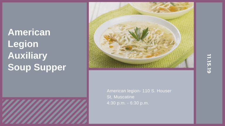 American Legion Auxiliary Soup Supper