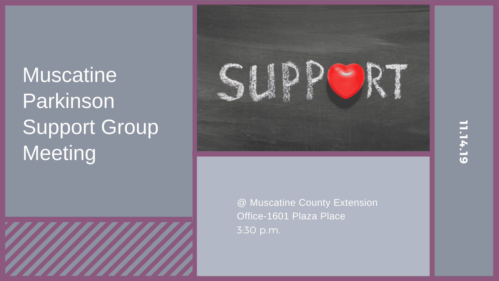 Muscatine Parkinson Support Group Meeting