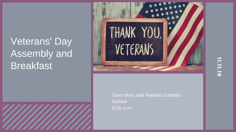 Veterans' Day Assembly and Breakfast