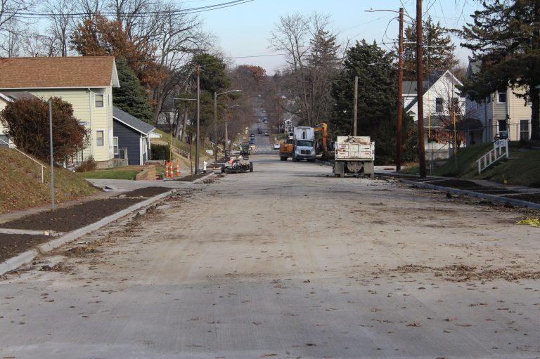West 8th Street reopens to traffic November 27