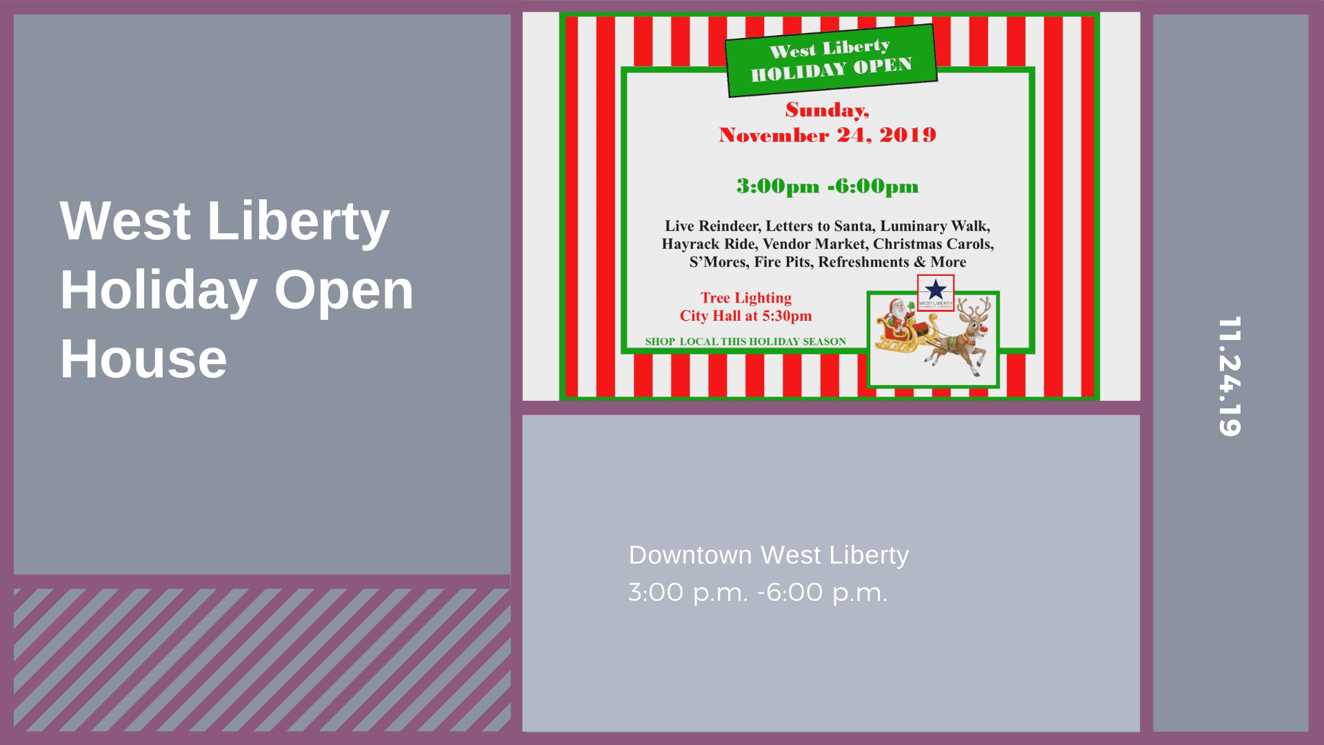 West Liberty Holiday Open House