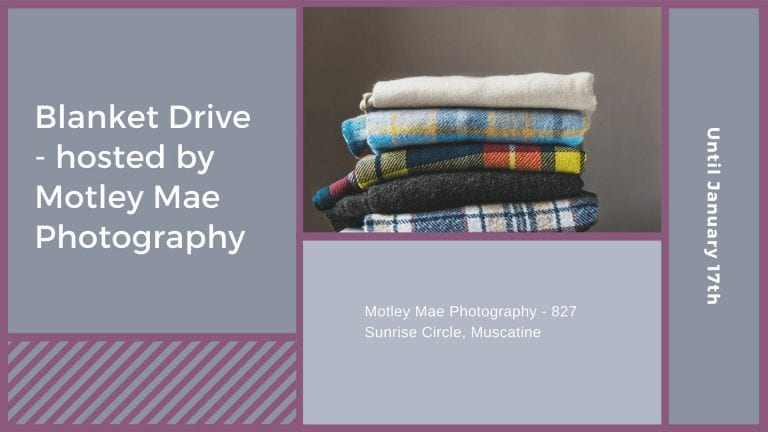 Blanket Drive – hosted by Motley Mae Photography