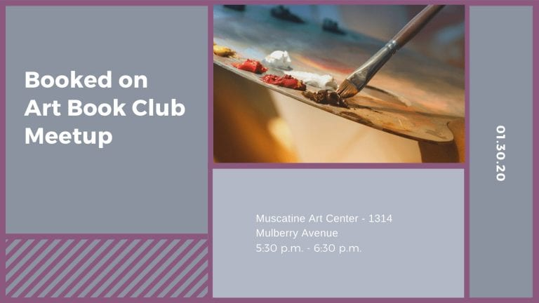 Booked on Art Book Club Meetup