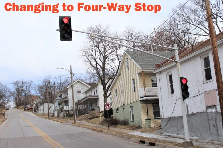 Four-way stop to be installed at Main and Hershey January 14