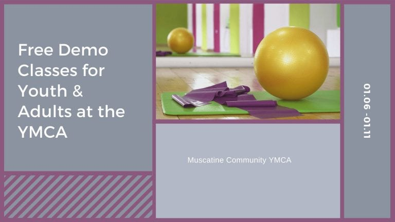 Free Demo Classes for Youth & Adults at the YMCA