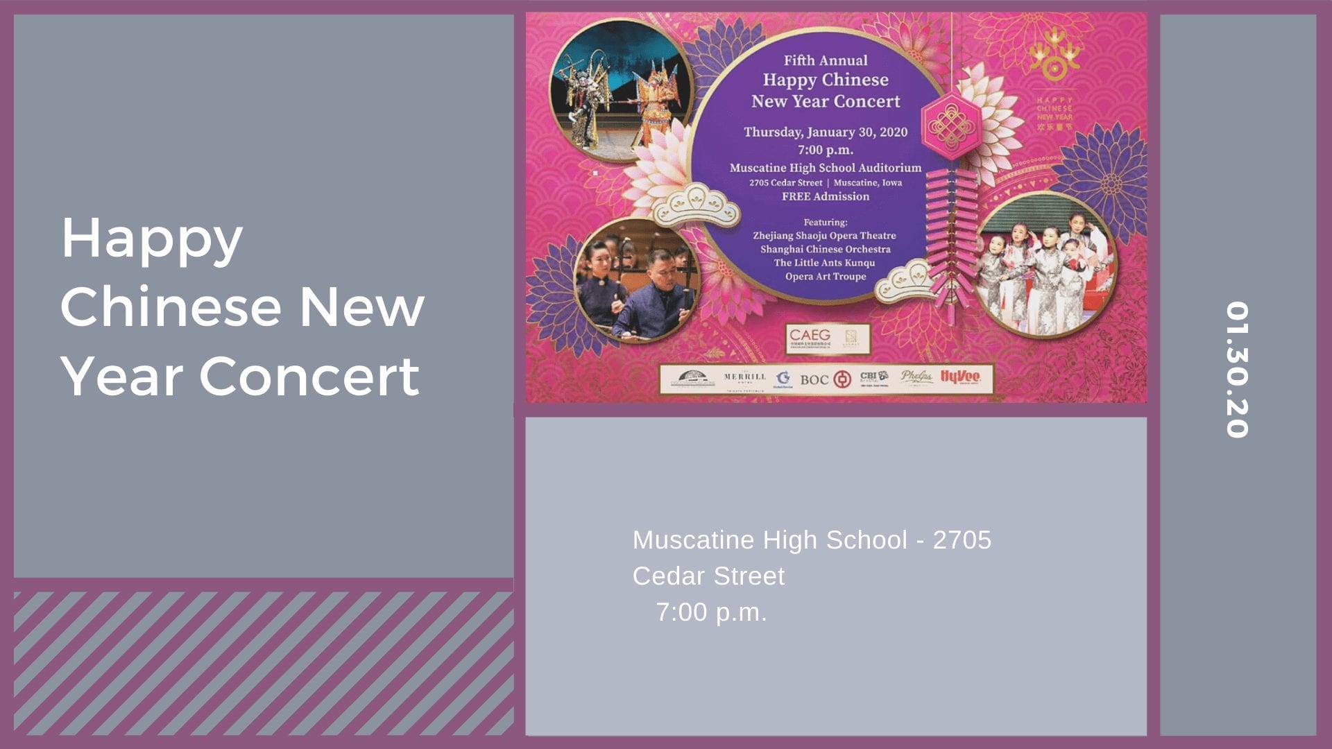 Happy Chinese New Year Concert
