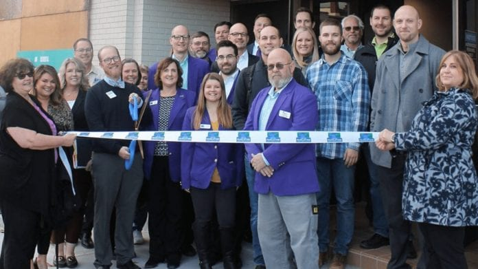 The GMCCI welcomed Hershey Lofts to Muscatine with a ribbon cutting ceremony on Jan. 2.