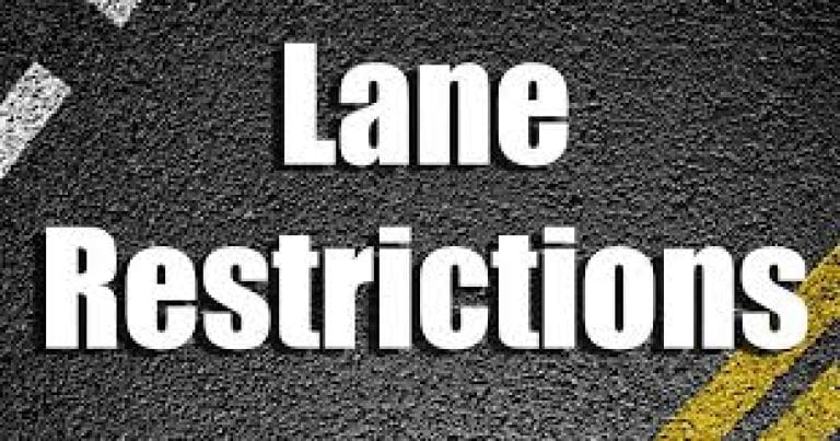 Lane restrictions begin Monday at 2nd and Mulberry