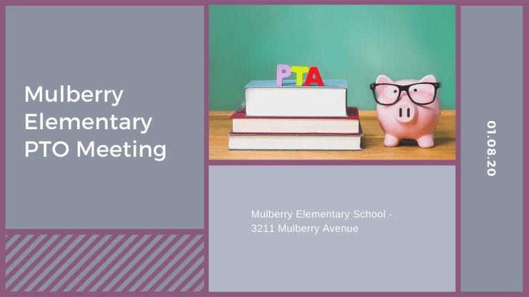 Mulberry Elementary PTO Meeting